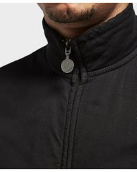 Pretty Green - Black Newcroft Zip Up Sweatshirt for Men - Lyst