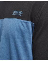 Barbour - Multicolor International Panel Short Sleeve T-shirt for Men - Lyst