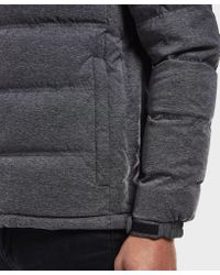 EA7 - Gray Mountain Padded Jacket for Men - Lyst