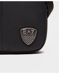 EA7 - Black Train Soccer Small Pouch Bag for Men - Lyst