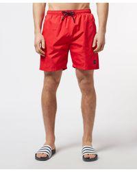 Paul & Shark Red Badge Swim Shorts for men
