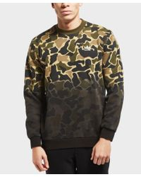 Adidas Originals Multicolor Camo Crew Sweatshirt for men
