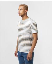 BOSS Multicolor Tirch Stripe Short Sleeve T-shirt for men