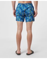BOSS by Hugo Boss Blue Piranha Swim Shorts for men