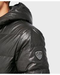 EA7 - Black Mountain Urban Padded Jacket for Men - Lyst