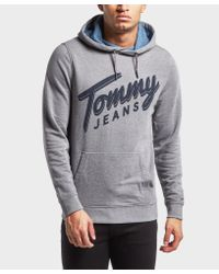 Tommy Hilfiger Gray Overhead Hoodie for men