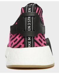 Adidas Originals Multicolor Nmd R2 Primeknit for men