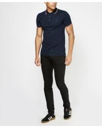 Paul And Shark - Blue Tipped Polo Shirt - Exclusive for Men - Lyst