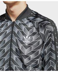 Adidas Originals Multicolor Soccer Track Top for men