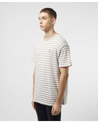 Tommy Hilfiger Gray Fine Stripe Short Sleeve T-shirt for men