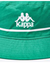 Kappa Green Bucketo Bucket Hat for men