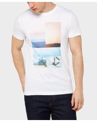 BOSS Multicolor Tacket 3 T-shirt for men