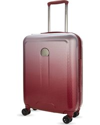 Delsey | Red Helium Air 2 Four-wheel Cabin Suitcase 55cm | Lyst