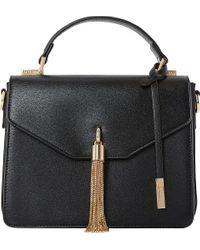 Dune | Black Delina Top Handle Bag | Lyst