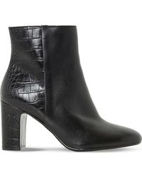 Dune | Black Nins Heeled Ankle Boot | Lyst