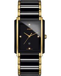 Rado - Blue R20204712 Integral High-tech Ceramic And Diamond Watch for Men - Lyst