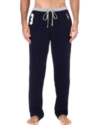 Polo Ralph Lauren - Blue Number 3 Pyjama Bottoms for Men - Lyst