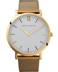 Larsson & Jennings - Metallic Cm Gold Polished Gold-plated Watch - Lyst