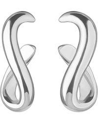 Links of London Metallic Essentials Infinity Sterling Silver Earrings