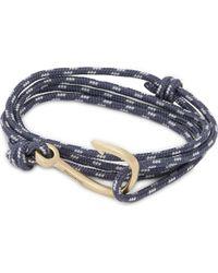 Miansai | Blue Rope Hook Bracelet for Men | Lyst