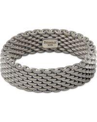 Miansai | Metallic Moore Mesh Ring | Lyst