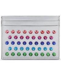 Christian Louboutin | Multicolor Kios Leather Card Holder | Lyst