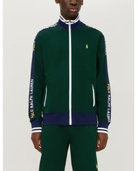 Polo Ralph Lauren Green Zipped Active Jacket for men