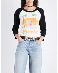 Moschino - Blue My Little Pony Cotton Top - Lyst