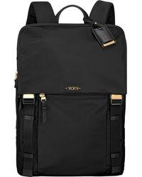 Tumi - Black Sacha Flap-front Backpack - Lyst