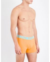 Björn Borg | Blue Mens Luxury Pack Of Two Stretch-cotton Boxer Trunks for Men | Lyst