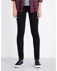 Levi's | Blue 710 Innovation Super-skinny Mid-rise Jeans | Lyst
