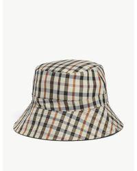Maje Multicolor Check Bucket Hat