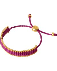 Links of London - Multicolor 18ct Gold-plated Friendship Bracelet - Lyst