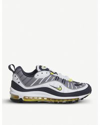 Nike White Air Max 98 Low-top Leather Trainers for men