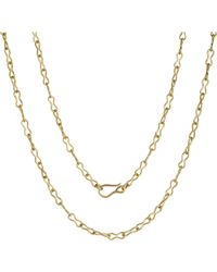 Annoushka - Mythology 18ct Yellow Gold Belcher Chain - Lyst