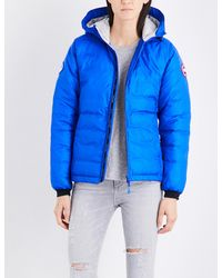 Canada Goose - Blue Camp Shell Down Jacket - Lyst