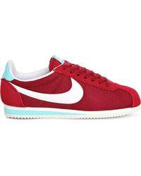 Nike Multicolor Cortez Suede Trainers