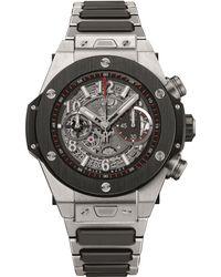 Hublot - Multicolor 411.nm.1170.nm Big Bang Unico Titanium Automatic Watch for Men - Lyst