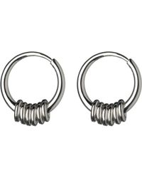 Links of London - Metallic Sweetie Sterling Silver Hoop Earrings - Lyst