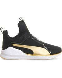 PUMA | Black Fierce High-top Trainers | Lyst