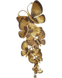 Annoushka | Yellow Butterfly 18ct Gold And Brown Diamond Pendant | Lyst