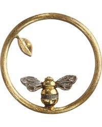 Annoushka | 18ct Yellow Gold Bee Hoopla | Lyst