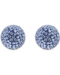 Marc Jacobs | Blue Pavé Stone Cone Stud Earrings | Lyst