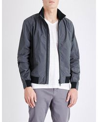Orlebar Brown | Blue Maddox Shell Bomber Jacket for Men | Lyst
