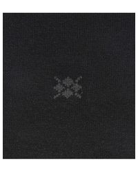 Burlington Black Dublin Cotton Socks for men