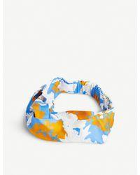 Stine Goya Blue Wallpaper Headband