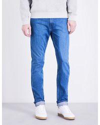 Levi's Blue 512 Line 8 Slim-fit Stretch-denim Jeans for men