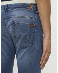 7 For All Mankind Blue Ronnie Jogger Skinny-fit jogger Jeans for men