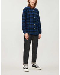 Polo Ralph Lauren Blue Corduroy Collar Shirt for men