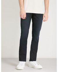 BOSS Orange - Blue Slim-fit Tapered Super-stretch Jeans for Men - Lyst